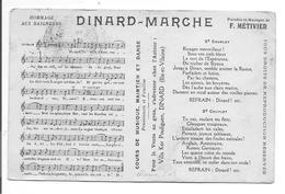 DINARD-MARCHE  PARTITION Musique Chanson - Música Y Músicos