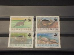 SLOVENIA - 1996 WWF FAUNA 4 VALORI - NUOVI(++) - Slovenia