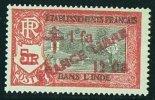 INDE ßurcharge «Croix De Lorraine Et FRANCE LIBRE» 1 Fa 12 Ca Sur 5R  Maury  258  ** - India (1892-1954)