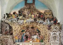 Italie Matera La Crèche Dans La Cathédrale (2 Scans) - Matera