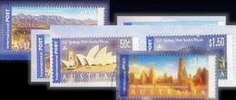 "Australia GoldBag 1KG  (2LB-3oz) 99% ""international Post Stamps"" KILOWARE Stamp Mixture - Timbres"