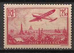 France - 1936 - Poste Aérienne PA N°Yv. 11 - Avion 2f50 Rose - Neuf Luxe ** / MNH / Postfrisch - 1927-1959 Postfris