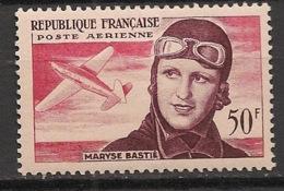 France - 1955 - Poste Aérienne PA N°Yv. 34 - Maryse Bastié - Neuf Luxe ** / MNH / Postfrisch - 1927-1959 Postfris
