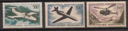 France - 1957-59 - Poste Aérienne PA N°Yv. 35 à 37 - Série Complète - Neuf Luxe ** / MNH / Postfrisch - 1927-1959 Postfris
