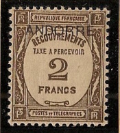 Andorre - 1931 - Taxe TT N°Yv. 14 - 2f Brun - Neuf * / MH VF - Nuevos