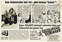 Original-Werbung/ Anzeige 1960 - COLGATE / COMIC-STIL - Ca. 240 X 160 Mm - Werbung