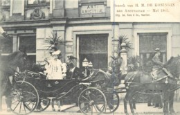 Pays-Bas - Bezoek Van H. M. De KONINGIN Aan Amsterdam - Mei 1905 - Royalty Noblesse - Otros
