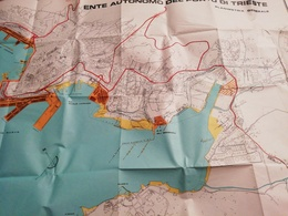 ITALIE TRIESTE / ITALIA ENTE AUTONOMO DEL PORTO DI TRIESTE 1978 - Cartes Géographiques