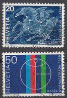 HELVETIA - SUISSE - SVIZZERA - 1969 - Lotto Di 2 Valori Usati: Yvert 829 E 831. - Usati