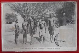 CONGO FRANCAIS   Haut OUBANGUI   Groupe De Sangos  (etat Voir Scan  Reste De Colle Du Timbre) - Congo Français - Autres