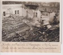 REVOLTE VIGNERONS CHAMPAGNE A AY LA MAISON AYALA DÉTRUITE ALLUME 18*13CM Maurice-Louis BRANGER PARÍS (1874-1950) - Places
