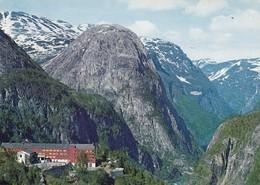 Postcard Norge Norway Stalheim Hotel PU Voss 1985 My Ref  B23703 - Norway