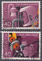HELVETIA - SUISSE - SVIZZERA - 1978 - Lotto Di 2 Valori Usati: Yvert 1064 E 1065. - Usati
