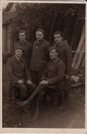 CARTE-PHOTO Souvenir De Captivité En Allemagne Stalag IX A  Kommando 1211   - Loeul Clément  Roncq Nord - Otras Guerras