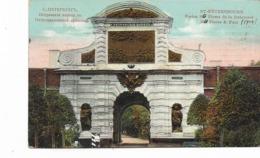 CPA - RUSSIA -  Saint Petersbourg :  Portes Saint Pierre De La Forteresse St Pierre Et Paul - Edition G.M.B. - 1914 - Russia
