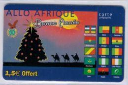 EAGLE TELECOM - Allo Afrique - Bonne Année - 1,5 € Offert - Voir Scans - France