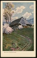 Fritz Reiss  -  Aus Dem Schwarzwald  -  Ansichtskarte Ca.1920  (11852) - Malerei & Gemälde