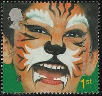 GB SG2179 2001 Facepainting 1st Fine Used [5/6234/25D] - 1952-.... (Elizabeth II)