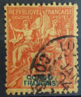 CONGO - Canceled - YT 21 - 40c - Congo Francese (1891-1960)