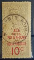 RÉUNION - Canceled Colis Postaux - YT 10 - 10c - Oblitérés