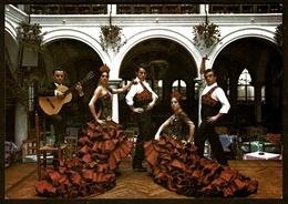 """Ballet """"Los Flamencos""""  -  El Relicario Night Club  -  Lloret De Mar  -  Ansichtskarte Ca.1966   (11800) - Werbepostkarten"""
