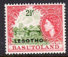 LESOTHO  - 1966 2 1/2c DEFINITIVE STAMP WMK BLOCK CA FINE UNMOUNTED MINT MNH ** SG 113B - Lesotho (1966-...)