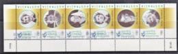 Australia 1998 Olympic Legends Strip Of 6 Used - 1990-99 Elizabeth II
