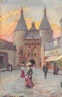 Illustration Raphaël Tuck - Nancy, Porte De La Graff - Carte Oilette, Collection Villes De France, Série 116, N° 6 - Tuck, Raphael