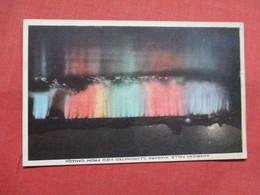 American Falls Niagara Illuminated From Canada     New York  >  Ref    3556 - NY - New York