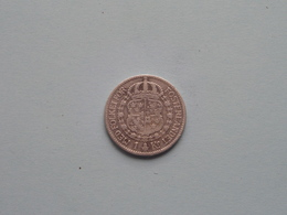 1910 W - 1 Krone ( KM 786.1 ) Uncleaned ! - Svezia