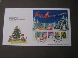 GB FDC  2012 Christmas - FDC