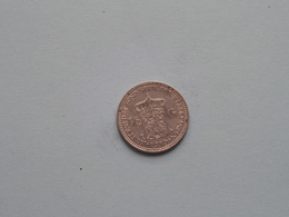 1930 - 1/2 Gulden ( KM 160 ) Uncleaned ! - 1/2 Gulden