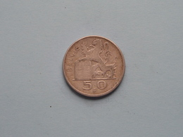 1950 - 50 Francs ( KM 137 ) FR/VL > Uncleaned ! - 05. 50 Francs