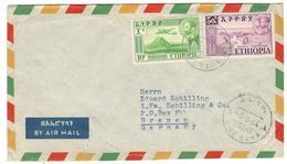 21092 - Par Avion Pour L'Allemagne - Ethiopie