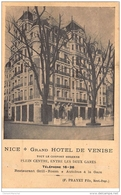 NICE : Grand Hotel De Venise - Etat - Nice