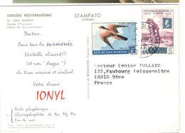 21109 - Publicitaire  Pour IONYL - Lettres & Documents