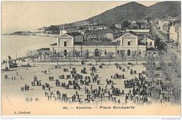 AJACCIO : Place Bonaparte - Etat - Ajaccio