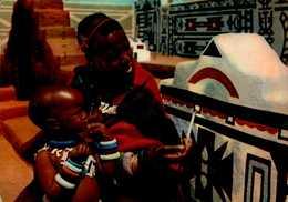 PLASMARINE..SOUTH AFRICA...FEMME N'DEBELE....CPSM GRAND FORMAT ANIMEE - Advertising