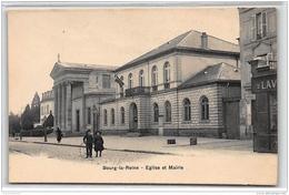 BOURG LA REINE : Eglise Et Mairie - Très Bon état - Bourg La Reine