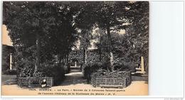 SCEAUX : Ruine De 3 Colonnes Faisant Partie De L'ancien Château De La Duchesse Du Maine - Très Bon état - Sceaux