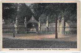 SCEAUX : Le Château, Entrée Principale Du Domaine De Trévise - Très Bon état - Sceaux