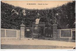 SCEAUX : Entrée Du Parc - Très Bon état - Sceaux