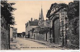 SCEAUX : Entrée Du Château De Trévise - Très Bon état - Sceaux