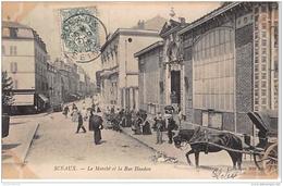 SCEAUX : Le Marché Et La Rue Houdan - Très Bon état - Sceaux