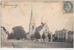 SCEAUX : La Place De L'Eglise - Très Bon état - Sceaux