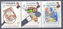 Brunei 2004 Mi 650-652 MNH ( ZS8 BRNdre650-652dav142A ) - Postzegels Op Postzegels