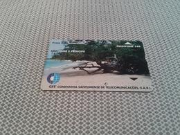 Sao Tome - Optical Phonecard - Sao Tome And Principe