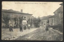 Brixey Aux Chanoines,par Sauvigny (Meuse)-Rue De L'Eglise - Otros Municipios