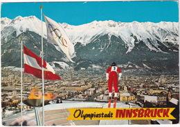 Innsbruck - Tyrol: IX. U. XII Olympische Winterspiele 1964 U. 1976 - Jeux Olympiques D'Hiver / Olympic Games - Ski-jump - Innsbruck