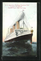 AK Passagierschiff Imperator, Dampfer Der HAPAG Hamburg-Amerika-Linie - Steamers